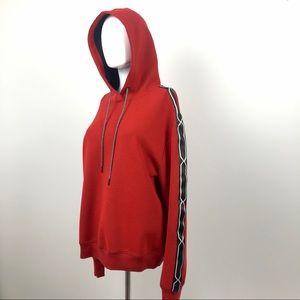 Hunter for Target Red & Black Hooded Sweatshirt